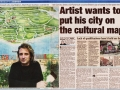 Mark puts city on map news article Nov 19 2002