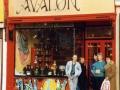 Avalon head shop mural 1988