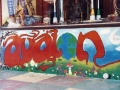 Avalon head shop mural 1993