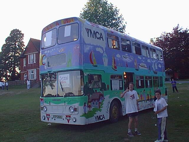 YMCA Double decker bus 2004