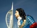 Gunwharf figurehead 2012