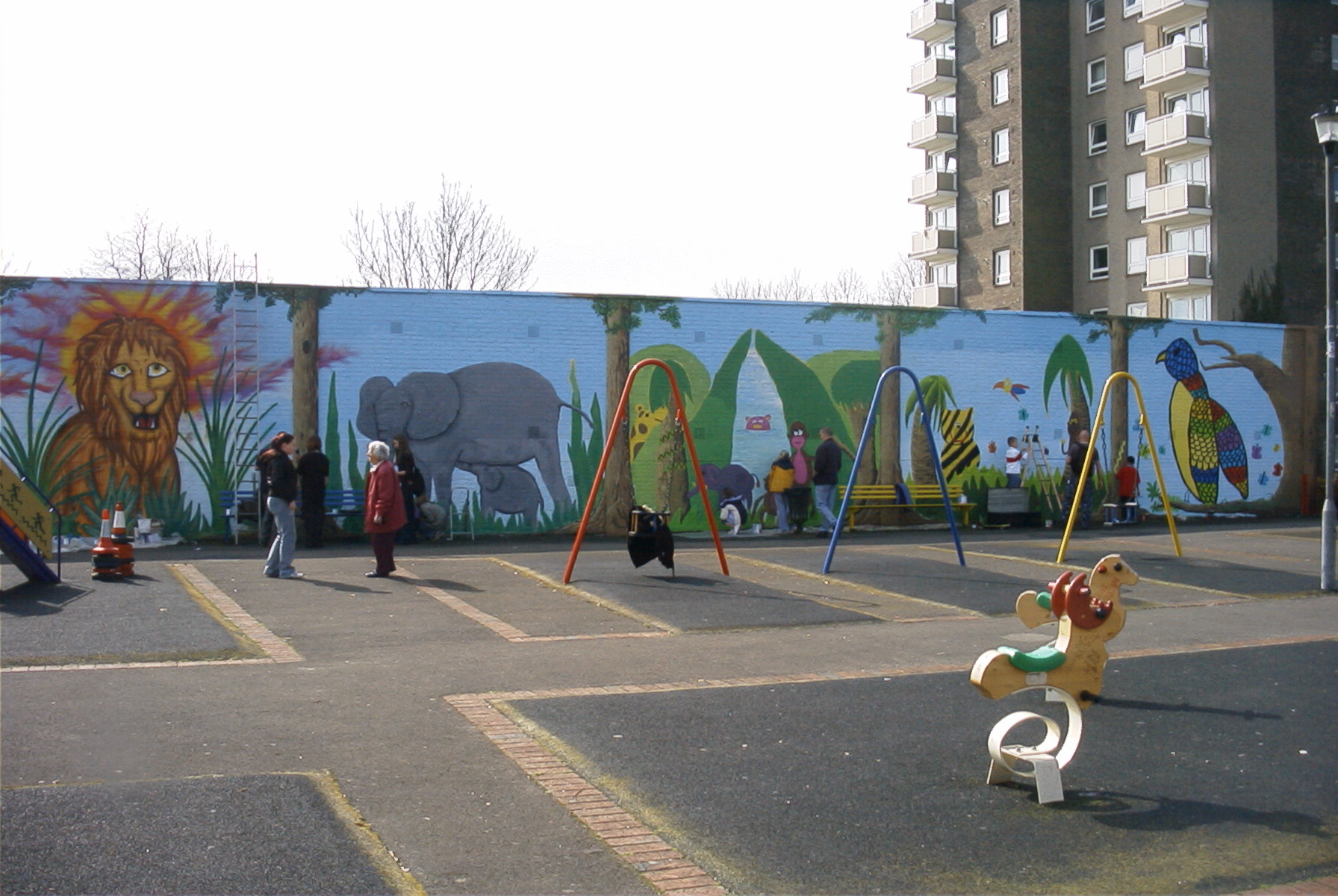 Hermitage West Leigh mural 2005