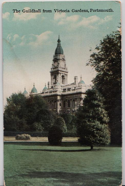 Victoria Park old postcard