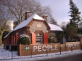 The Arts Lodge in the snow 2009