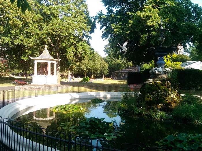 Fountain in the park (2014)