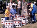 Party in the park 2004 drumming group