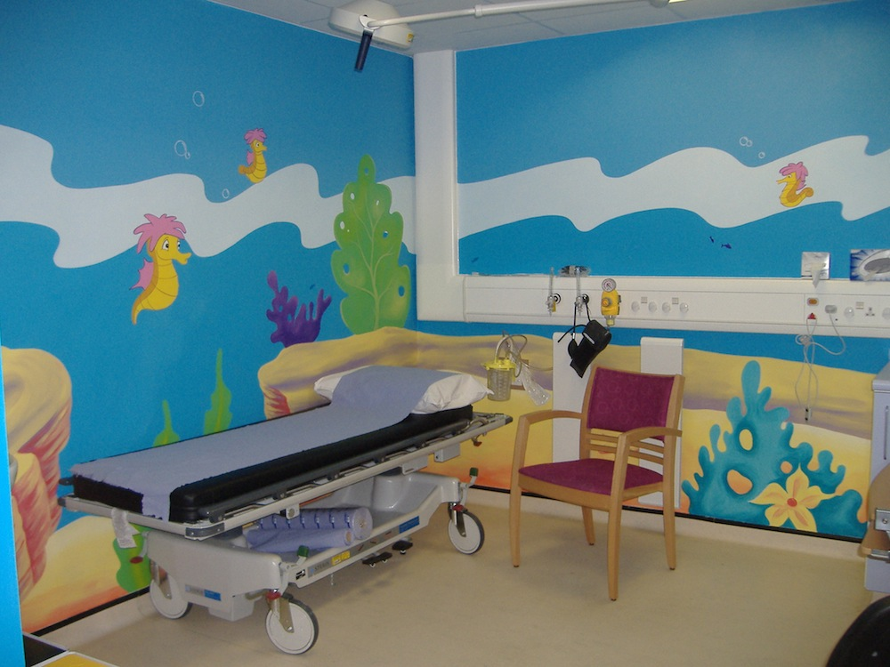 St Marys treatment hospital murals 2008