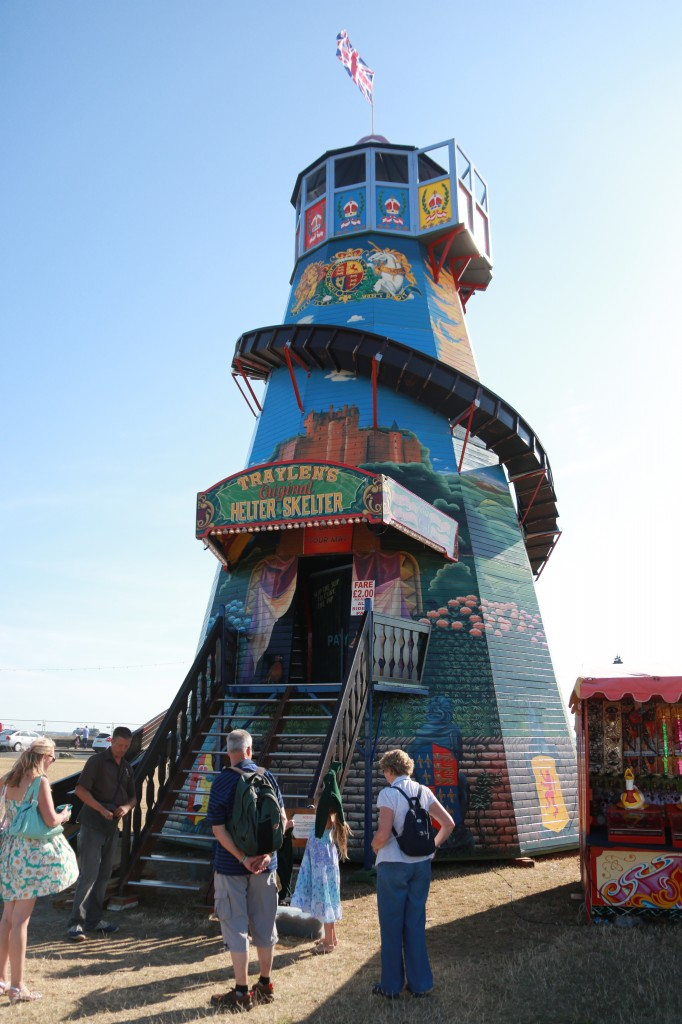 Oldest original wooden helter skelter in the UK