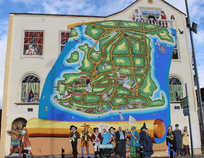 The Strand map in 2011 - the never ending mural
