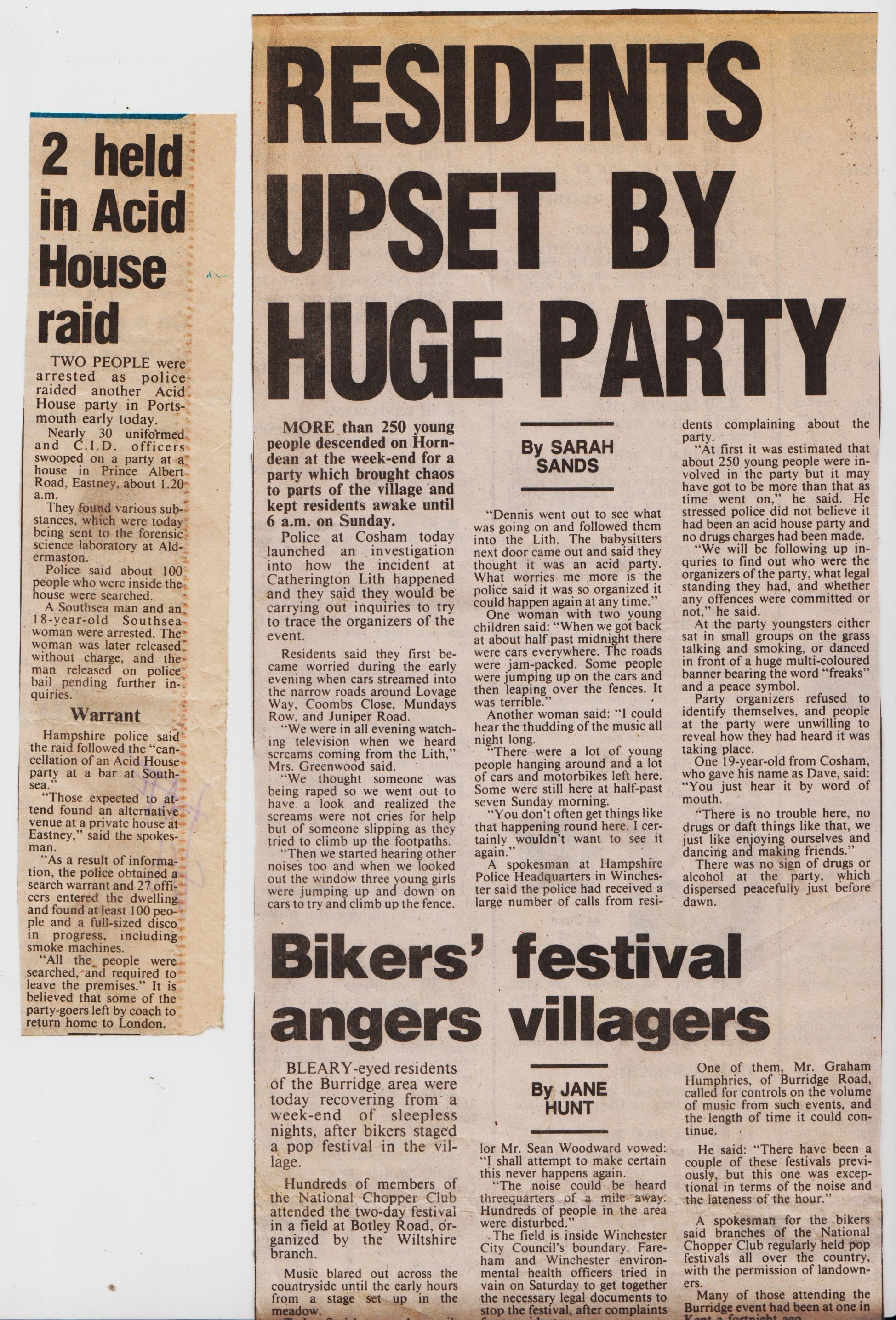 Rave news articles – 1988 to 1990 – The Art & Soul Traders